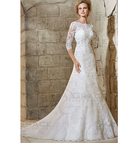 A Line Wedding Dresses  The Knot