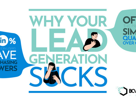 Why Your Lead Generation Sucks