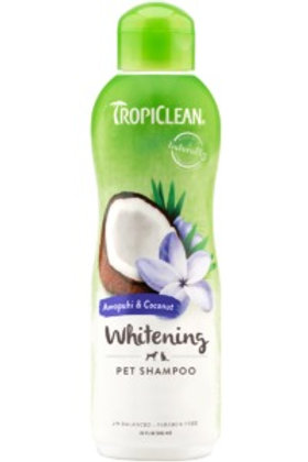 Tropiclean - shampooing poils blancs