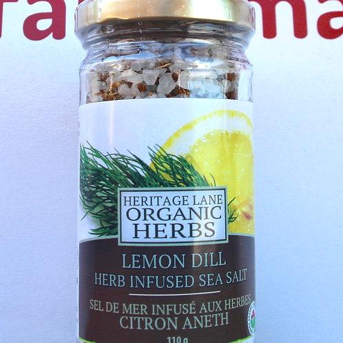 Lemon Dill Infused Sea Salt 110g