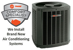 Trane heating & air conditioning replacment Valencia Ca