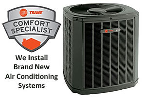 Trane heating & air conditioning replacment Valencia Ca