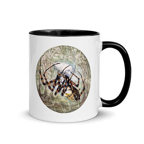 Spider ~ Mug with Color Inside