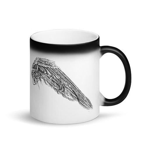 Wings ~ Matte Black Magic Mug
