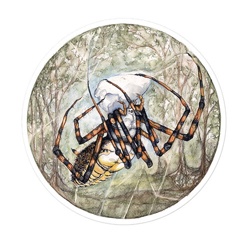 Spider ~ Bubble-free stickers