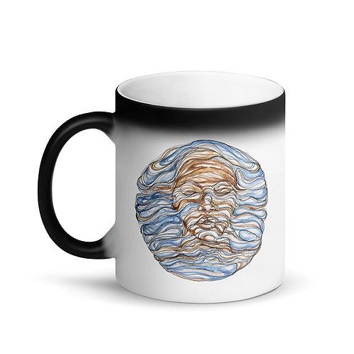 Flow ~ Matte Black Magic Mug