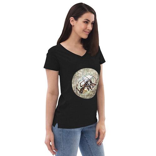 Spider ~ Women's recycled v-neck t-shirt