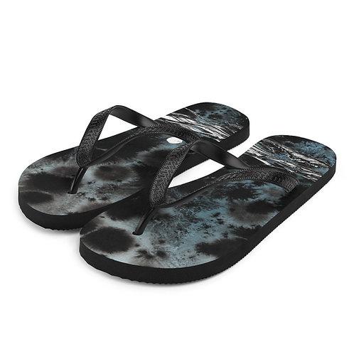 Sea Change (tye-died) ~ Flip-Flops