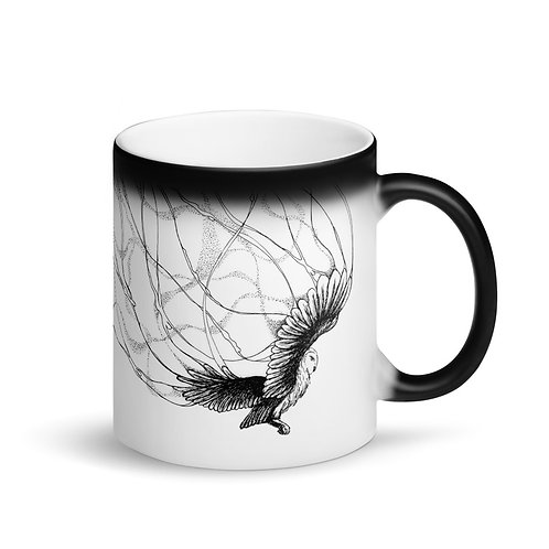 Star Burnt Sky 2~ Matte Black Magic Mug
