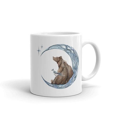 Moon, Bear, & Bird ~ Mug