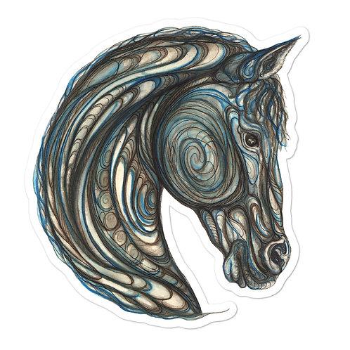 Tribal Horse ~ sticker