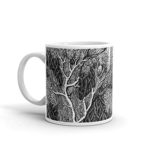 Owl in Tree ~ Mug