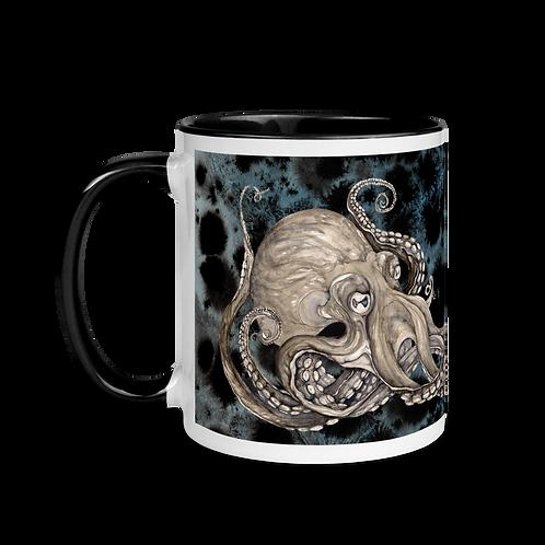 Kraken ~ Mug with Color Inside