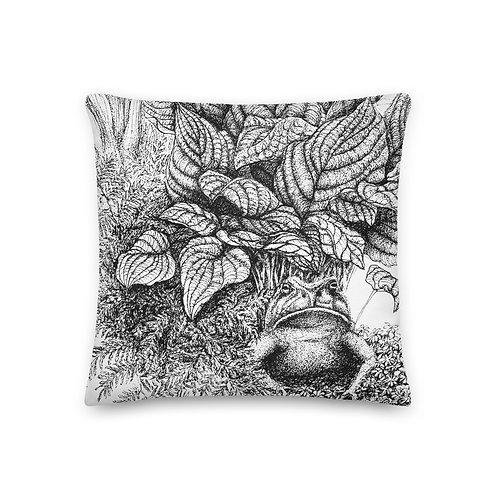 Serene as Buddha ~ Premium Pillow