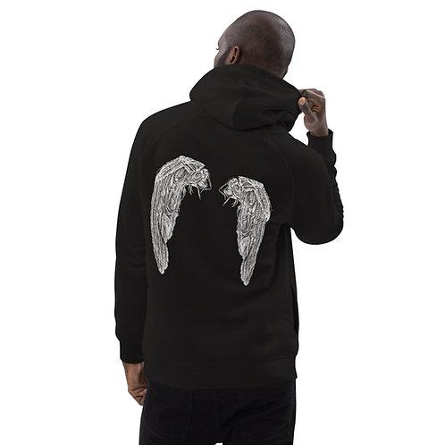 Clock (wings) ~ Unisex pullover hoodie