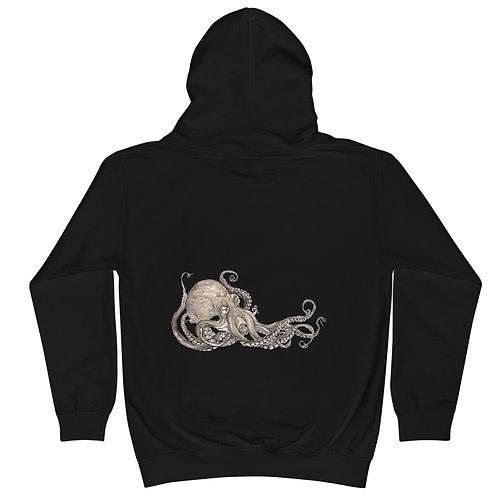 Kraken (on back) ~ Kids Hoodie