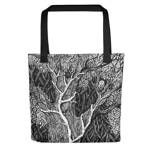 Owl in Tree ~ Tote bag