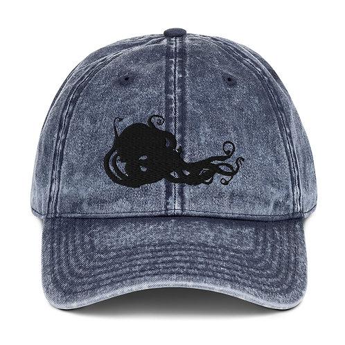 Kraken ~ Vintage Cotton Twill Cap