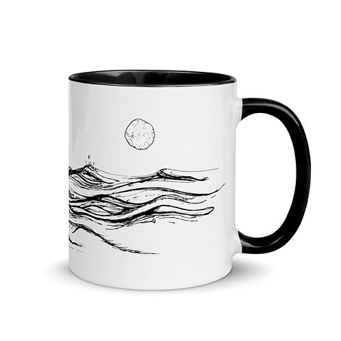 Sea Change ~ Mug with Color Inside