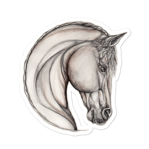 Horse Sketch ~  sticker