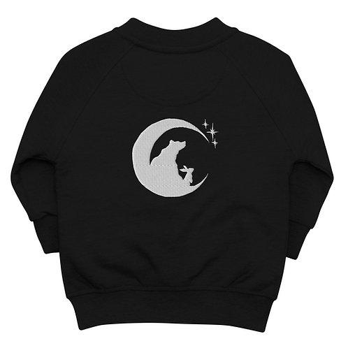 Moon, Bear, & Rabbit ~ Baby Organic Bomber Jacket