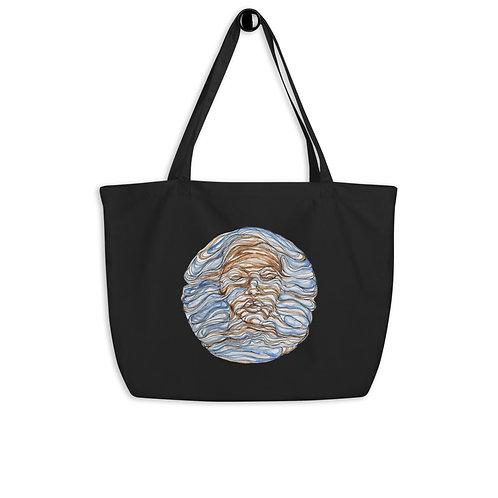 Flow ~ Large organic tote bag