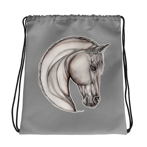 Horse Sketch ~ Drawstring bag