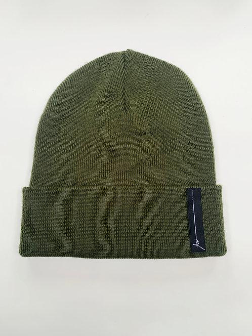 Moss Green Beanie