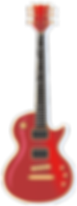 Red Electic Guitar