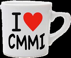 """""""I Love CMMI"""" Mug"""