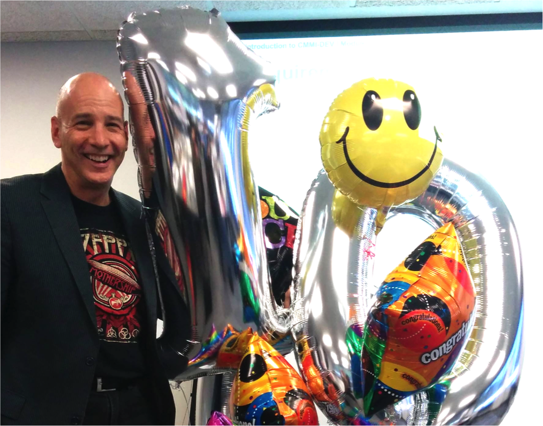Bill Gets A CMMI Institute Surprise
