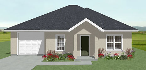 Exterior of Dixie Home Plan