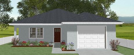 exterior clayton plan, home plan