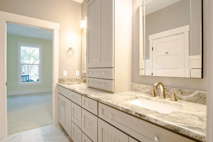 Doube Sinks in guest bath