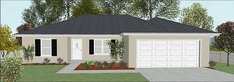 Exterior Boone Plan, House plan