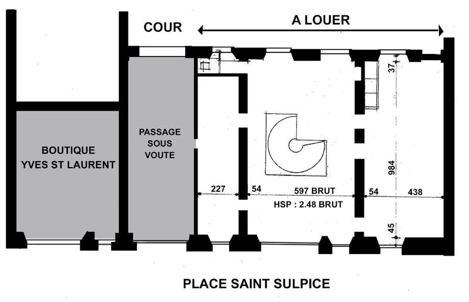 Plan de Masse - 1er étage