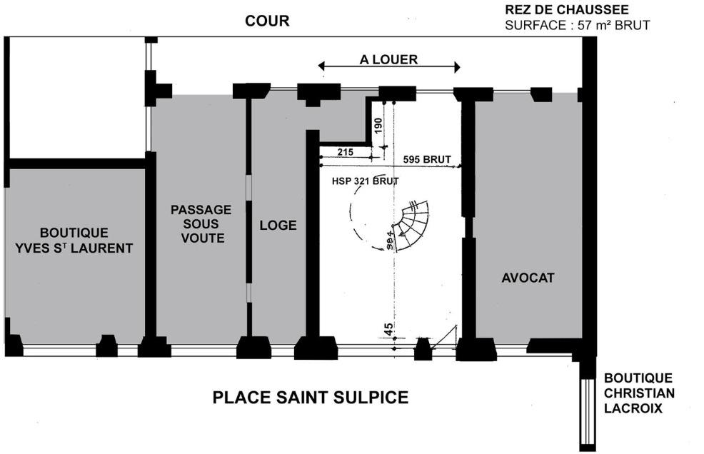 Plan de Masse - RDC