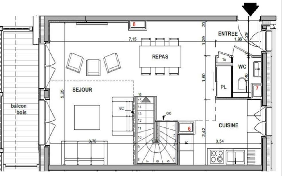 Appartement 4 - RDC