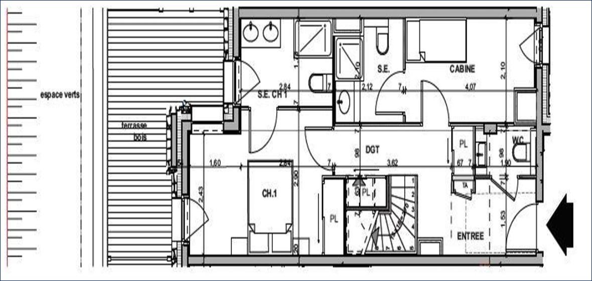 Appartement 3 - RDC