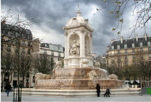 Fontaine Place Saint Sulpice