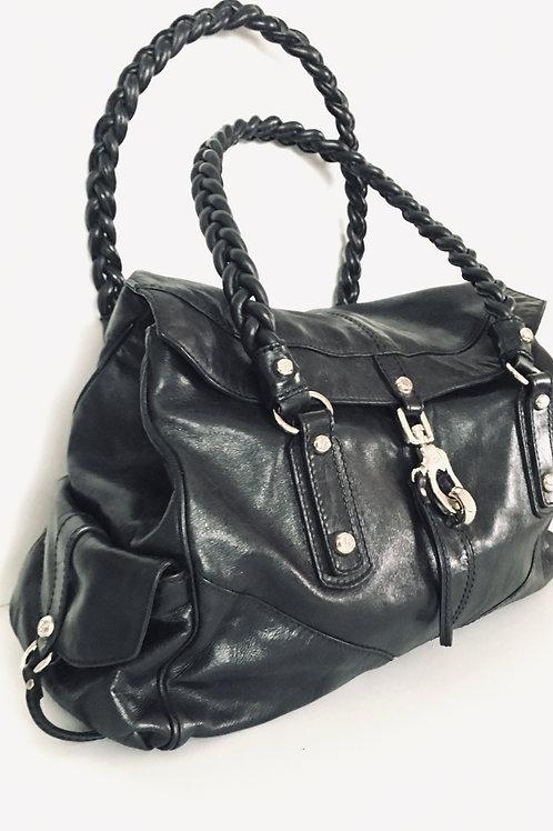Francesco Biasia boho leather bag