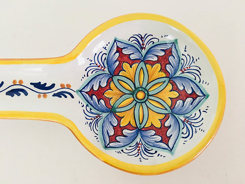 Deruta Italian Pottery Spoon Rest