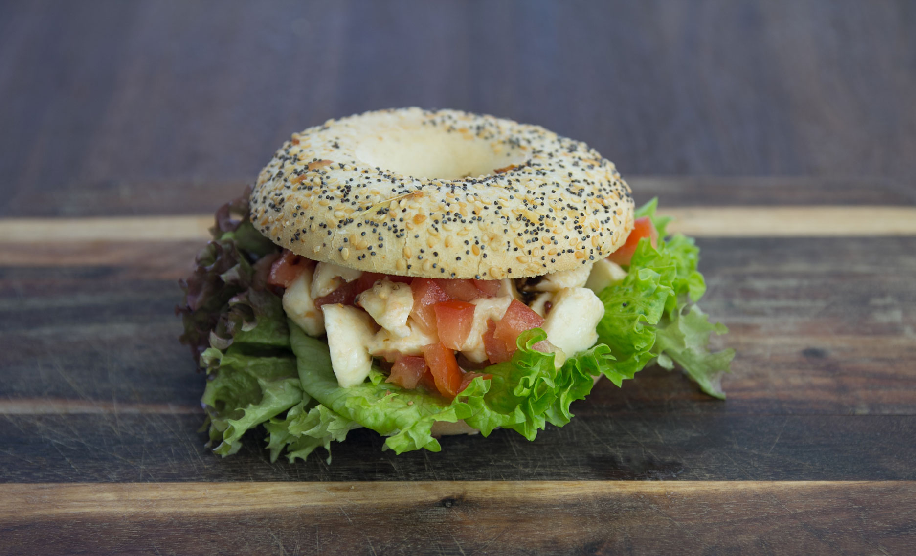 Bagel-Tomate-Mozarella