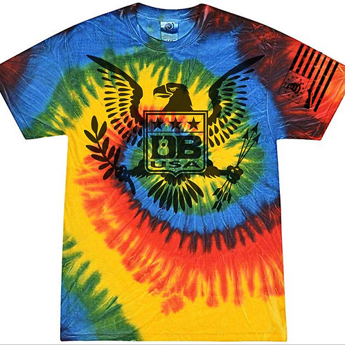 Tie Dye Freedom Eagle (Youth) - Rasta