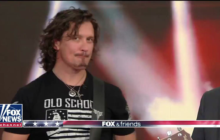 """Dave Bray USA performs """"Warrior Inside"""" Live on Fox & Friends"""