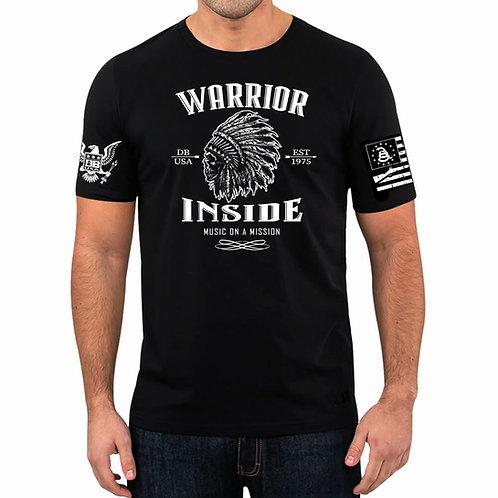 Warrior Inside T-shirt Black