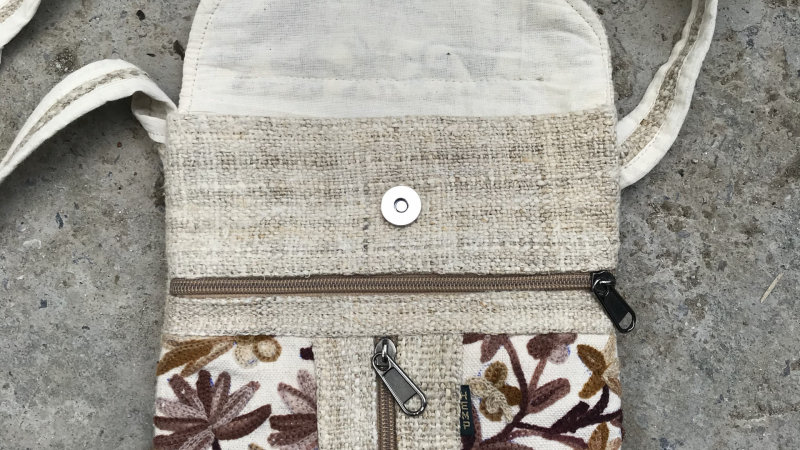 Hemp Flat Pocket Bag