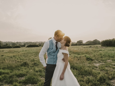 Marquee Wedding Film // A Brilliantly British Family Garden Wedding