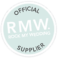 Rock My Wedding, Recommended Supplier Badge, Wedding Blog, RMW