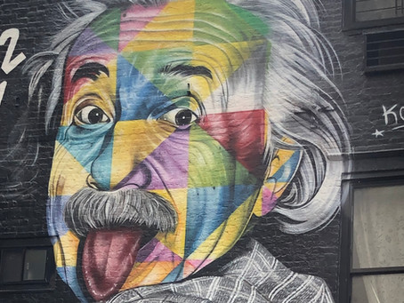 COVID myths and anti-Semitism.  What would Einstein think?